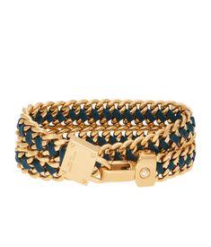 Padlock Convertible Leather Wrap Bracelet & ChokerPadlock Convertible Leather Wrap Bracelet & Choker