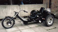 Very nice seat height! Trike Chopper, Vw Trike, Trike Motorcycle, Volkswagen, Custom Trikes, Custom Sport Bikes, Bike Builder, T Bucket, 3rd Wheel