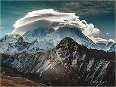 Las extrañas formaciones de nubes lenticulares