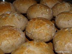 Kaldhevede frokostrundstykker - TRINEs MATBLOGG