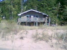 Silver Lake/Lake Michigan - Cottage from the Beach