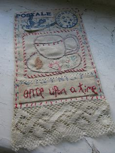 photo only for (p)inspiration. like the collage of needlework pieces. Jessie Chorley and Buddug the Shop.