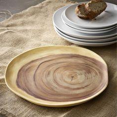 Wood Slice Charger | west elm