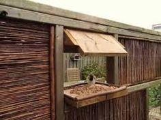 houten tuinafscheiding
