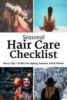 hair care checklist