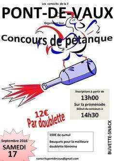 Les classes en 7 organisent un concours de pétanque.