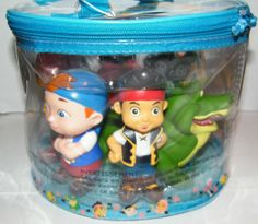 Amazon.com: Disney Jake and the Never Land Pirates Figure Set Bath Pool Toys with an Exclusive 8 inch long Tick Tock Crocodile!: Everything ...