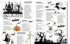 F� gratis s�ngblad till barnens halloweenfest! #Halloweenfest #Halloweenlekar #Festlekar #Halloweenparty