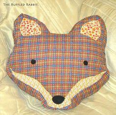 Sass And Belle Fox Head Cushion - The Supermums Craft Fair