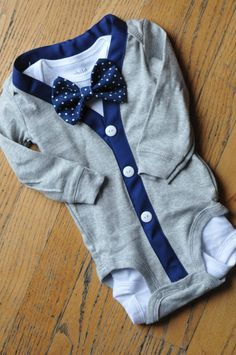 Hey, I found this really awesome Etsy listing at https://www.etsy.com/listing/175739355/grey-and-navy-blue-cardigan-bodysuit