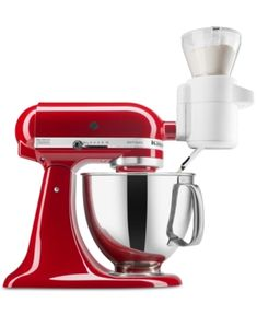 Shop for KitchenAid Stand Mixer Attachments in KitchenAid. Buy products such as KitchenAid Fresh Prep Slicer/Shredder Attachment (KSMVSA) at Walmart and save. Kitchen Aid Mixer, Kitchen Tools, Kitchen Dining, Kitchen Things, Kitchen Stuff, Kitchen Gadgets, Kitchen Ideas, Cooking Gadgets, Kitchen Products