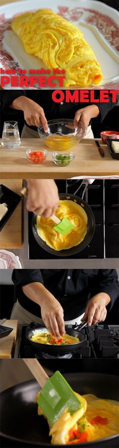 How to Make An Omelet: Follow these easy steps to make the perfect omelet every time.