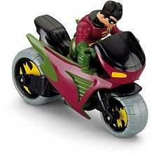 "$8.99  He LOVES Robin; Fisher-Price Imaginext DC Super Friends - Robin & Cycle - Fisher-Price - Toys ""R"" Us"