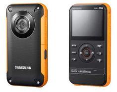 Samsung Sport Cam W350: ideal para aventureros, es resistente a todo, la mejor inversión para unas vacaciones.