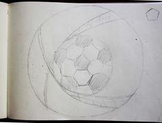 Designproces - tegning ud fra inspiration af Tiflies undervisning
