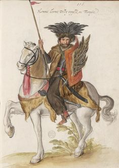 Armed Man called Delli, in Turkey, by Lucas d'Heere, about 1575