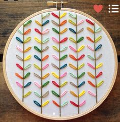 Love this stitched art!