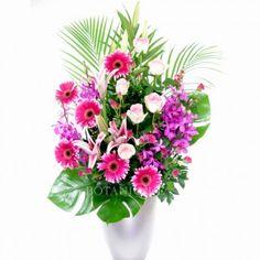 Magnificent Large Flower Arrangement Delivered Gold Coast Australia. Send Flowers, Fresh Flowers, Large Flower Arrangements, Gold Coast Australia, Flower Ideas, Floral Bouquets, Planting Flowers, Floral Design, Plants