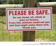Please be safe…