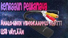 Kenraalin tuotetesti - Analoginen videokaappus kortti USB väylään