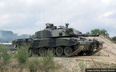 Challenger 2 Main Battle Tank, United Kingdom  A British Army Challenger 2 main battle tank.