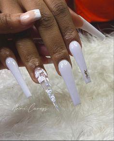 Bad Nails, Dope Nails, Nails On Fleek, Best Acrylic Nails, Acrylic Nail Designs, Colorful Nail Designs, Elite Nails, Acylic Nails, Nails After Acrylics