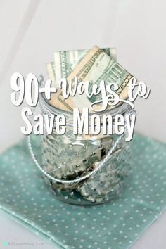 90+ Ways to Save Money. Here are 90+ ways our family saves money. Plus, enter to win 1 year free of YNAB (You Need A Budget) program.