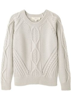 Vanessa Bruno Athé Cable Knit Pullover
