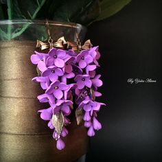 Purple Lilac by Tatin on Etsy