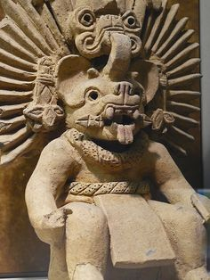 Bat God Zapotec  Period IIIA