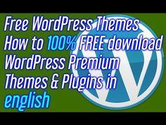 Free WordPress Themes How to FREE download WordPress Premium Themes & Plugins in english - http://www.howtowordpresstrainingvideos.com/best-free-wordpress-themes/free-wordpress-themes-how-to-free-download-wordpress-premium-themes-plugins-in-english/