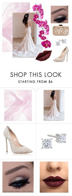 """""""The Wedding Day"""" by tanaya-bora on Polyvore featuring Casadei and LASplash"""