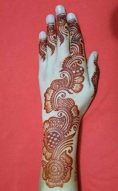Latest Henna Designs, Henna Tattoo Designs Simple, Back Hand Mehndi Designs, Stylish Mehndi Designs, Full Hand Mehndi Designs, Mehndi Designs 2018, Mehndi Designs Book, Mehndi Designs For Beginners, Mehndi Designs For Fingers