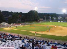 MacKenzie Field, Holyoke, Ma- catch the Holyoke Blue Sox!