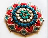 Bizancio Party Crocheted Fascinator