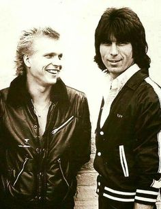 Michael Schenker and the late great Cozy Powell