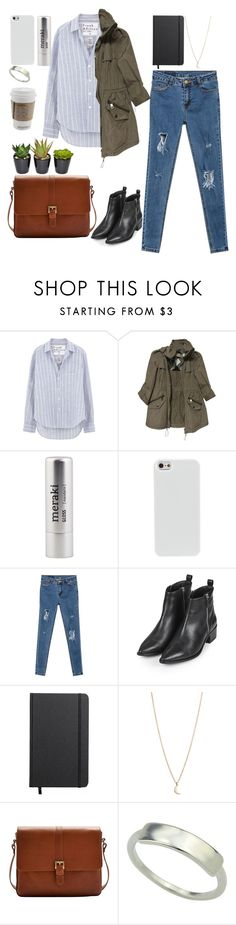 """""""creating"""" by jennifer-dubert on Polyvore featuring Frank & Eileen, Burberry, Meraki, Topshop, Shinola, Minor Obsessions, Joules and The French Bee"""
