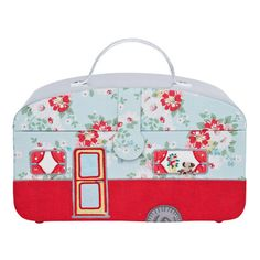 Bright Pop Caravan trailer Sewing Box