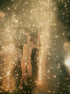 """Hysteric Fireworks"", Ryan McGinley 2007"