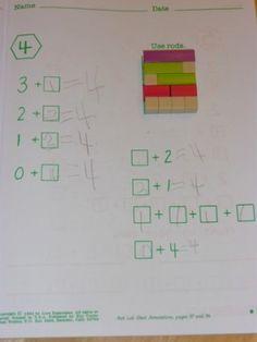 Miquon Math – The Curriculum Choice