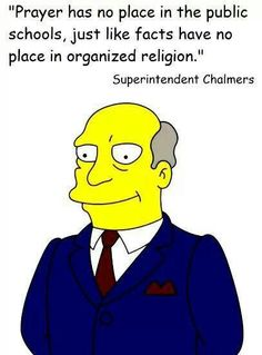 I love how The Simpsons criticizes religion Atheist Humor, Atheist Quotes, Humanist Quotes, Anti Religion, The Simpsons, In This World, Christianity, Bible, Words
