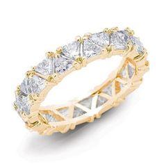 Gold Trillion Ring