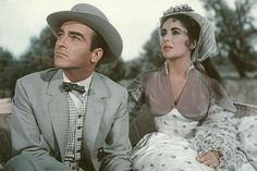 RAINTREE COUNTY ~~Elizabeth Taylor  &   Cliff Montgomery  Saw this with my grandmother,  SPECIAL TIME