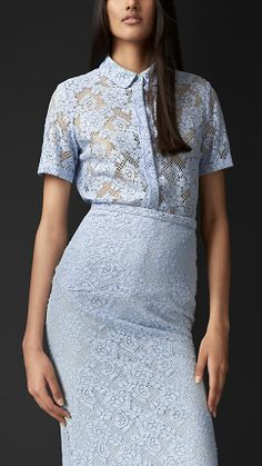 English Lace Shirt | Burberry