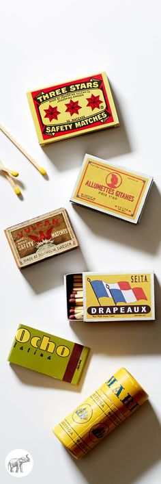 Collection of vintage matchbooks #OKLCollections
