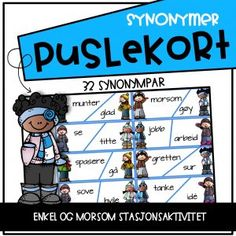Puslekort – Synonymer Family Guy, Comic Books, Teaching, Writing, Education, Comics, Cover, Fictional Characters, Learning