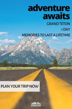 Perfect for outdoor lovers, Grand Teton is a wonderful National Park to visit with kids. Take hikes, explore the lakes and trails, and take in the majestic mountains from every angle with this one day Family Adventure, Adventure Travel, Travel With Kids, Family Travel, Road Trip Hacks, Road Trips, Family Vacation Destinations, Travel Destinations, Wyoming