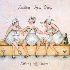 Diy Discover Ladies Spa day letting off steam Ladies Who Love Life . Birthday Wishes Birthday Cards Happy Birthday Spa Birthday Old Lady Humor Art Impressions Stamps Crazy Friends Funny Cards The Golden Girls Spa Birthday, Birthday Wishes, Birthday Cards, Happy Birthday, Old Lady Humor, Art Impressions Stamps, Crazy Friends, Funny Cards, Whimsical Art