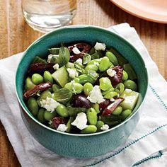 Greek-Style Edamame Salad | MyRecipes.com