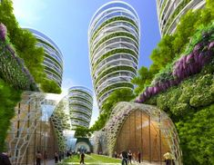 Paris as a Green and Sustainable Future City Is Even More Beautiful [Futuristic Architecture: http://futuristicnews.com/category/future-architecture/]